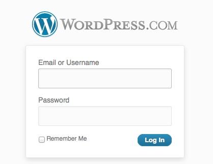 logInWordpressScreenshot